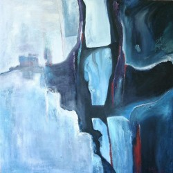 Naděje, 100x100, olej na plátně
